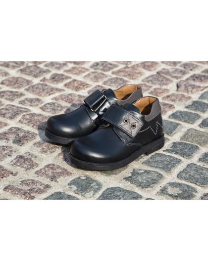 Туфлі «Пітер» ортопедичні, чорні