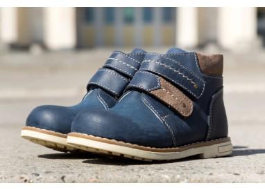 Черевики «ТОМ» для хлопчиків, демисезонні, ортопедичне взуття для дітей