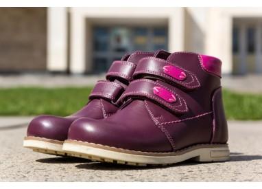 Черевики «Еллі» для дівчаток, демисезонні, ортопедичне  взуття  для дітей