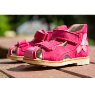 """Босоножки с закрытым носком """"Дебби"""" для девочки, ортопедическая обувь"""